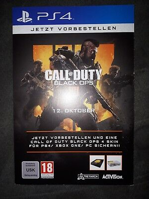 Call Of Duty Black Ops 4 Skin Für PS4 / Xbox One / PC Code