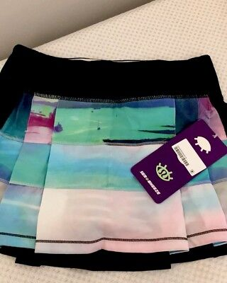 Lululemon Sky To Seawheeze Size 2 Pace Rival Skirt Nwt