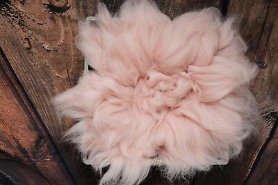Pink wool blanket Basket Filler Photo Props