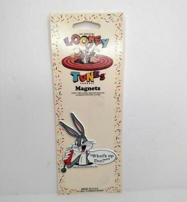 1992 Warner Brothers Bugs Bunny Looney Tunes Fridge Magnet