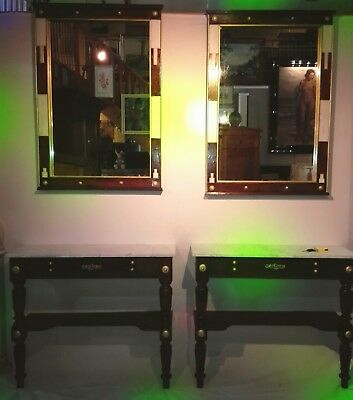 Paar Konsolen Spiegel Pair of Consoles Mirrors 19th Cent.