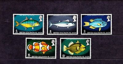 British Solomons Islands    Fische postfrisch