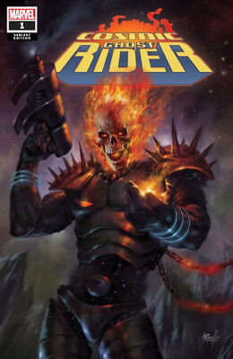 COSMIC GHOST RIDER #1 Parrillo Trade Dress Variant Cover Marvel 1st Print NM