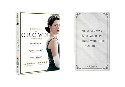 The Crown Season 2 with Exclusive Tea Towel (Limited Edition Zoom  Exclusive)