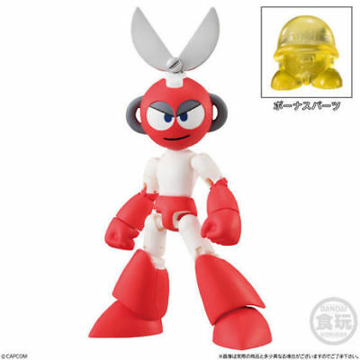 2  Bandai Shokugan Cutman Vile Red EXE dash Mega Man X 66 Action Figures Vol