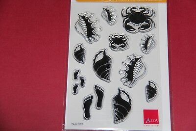 Scrapbooking - Azza - Mini Tampons Coquillages