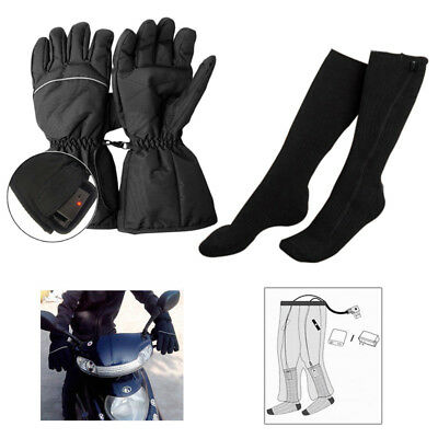 Winter Warming Rechargeable Electric Battery Heated Gloves/Socks/Shoe Insoles H