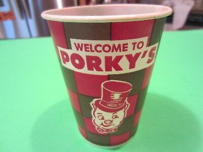Vintage Porkeys Drive-in Wax Cup St. Paul Minnesota