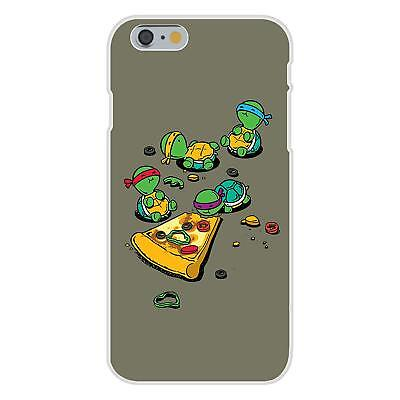 Pizza Lover Turtle Cartoon Parody FITS iPhone 6 Snap On Case Cover New Gift
