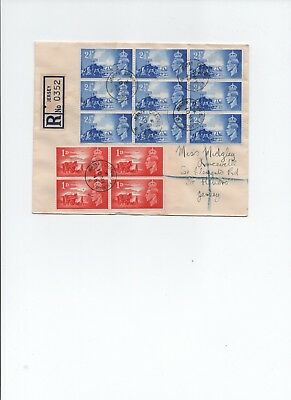 Jersey,  1948  Liberation Registered Cover