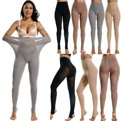 Women Fashion Solid Colors Opaque Socks Tights Pantyhose Footless Stockings USPS