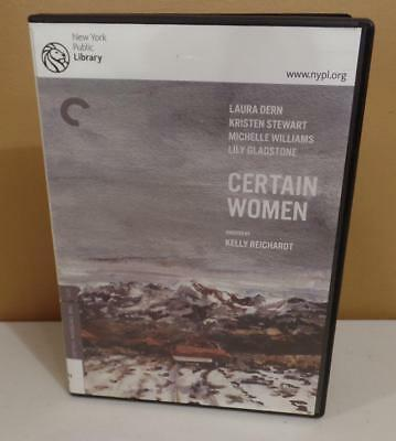Certain Women (The Criterion Collection) - 715515203616 - EX-LIBRARY