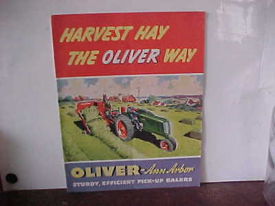 Colorful Harvest Hay the OLIVER Way Brochure