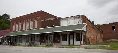 Commercial Buildings,Heyday of Downtown,Cherokee,Colbert County,Alabama,2010