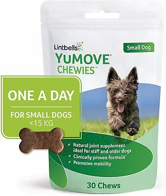 Lintbells YuMOVE ONE-A-DAY Dog Chewies Joint Aids Stiff Mobility Pet 30/90 Chews