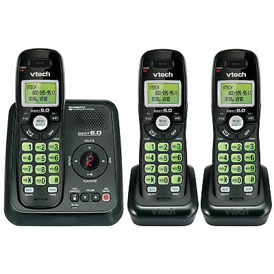 VTech CS6124-31 DECT 6.0 Cordless Phone and Answering System - 3 Handsets