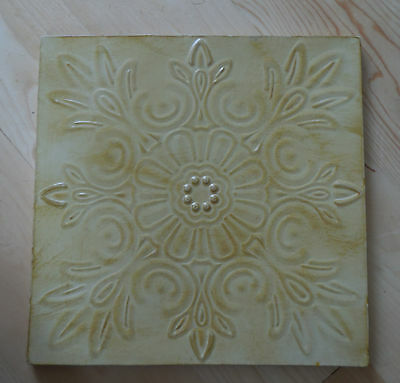 Shabby Farmhouse Cottage Chic Vintage Looking Tin Ceiling Panel Wall Art