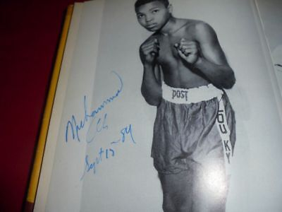 Muhammad Ali (+) signed - Autograph - Autogramm - In Person 1984 - Cassius Clay