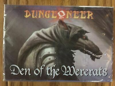 Haunted Woods of Malthorin Dungeoneer Card Game 2012 Reprint