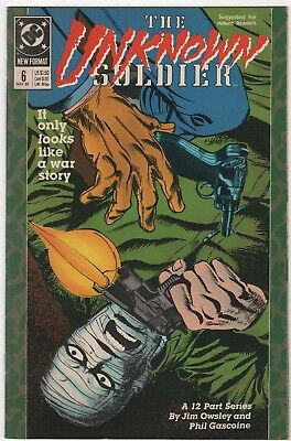 The Unknown Soldier #6 In Near Mint 9.0 Condition (May 1989, DC)