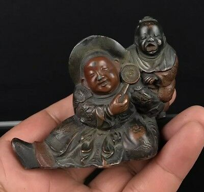 High Quality Antique Japanese Possible Meiji Period Figure Statue NO RESERVE!!