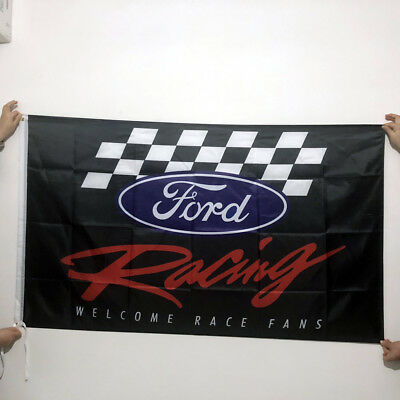 Ford Racing Flag Ford Car Banner Flags 3X5 Ft Black Freeshipping Flag 90X150cm