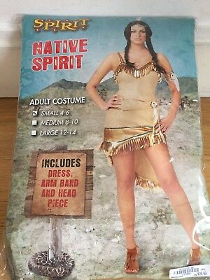 Sexy Indian Girl Halloween Costume size Small