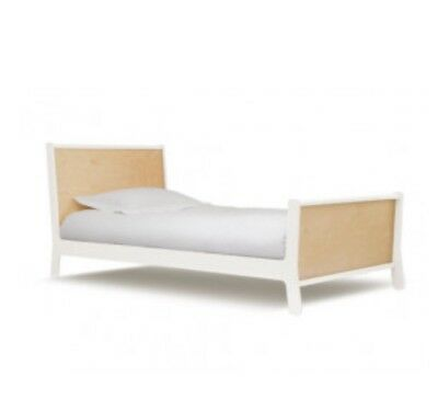 Oeuf Sparrow King Single Timber bed Danish style  Kids Children Wooden Bed Frame