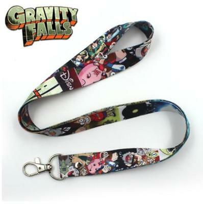 Gravity Falls Bill Cipher Cell Phone Rope Chain Strap Clip Lanyard Keychain