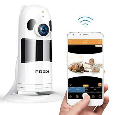 FREDI Baby Monitor WiFi Wireless Camera 1080P HD Security Camera with Two-Way Ta
