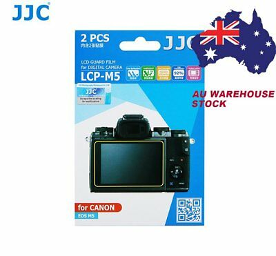 JJC LCP-M5 LCD Screen Protector Protection Guard Film for Canon EOS M5 camera_AU