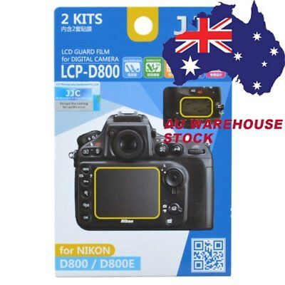 JJC LCP-D800 LCD Guard Film Camera Screen Protector for NIKON D800 D800E _AU