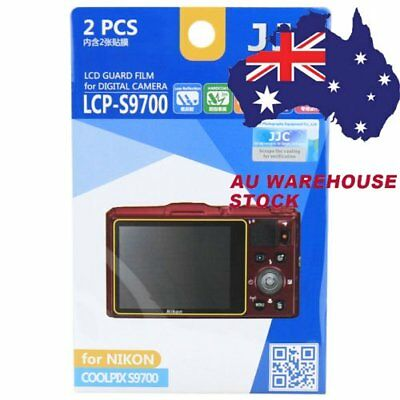 JJC LCP-S9700 LCD Film Camera Screen Protector for NIKON COOLPIX S9700 _AU
