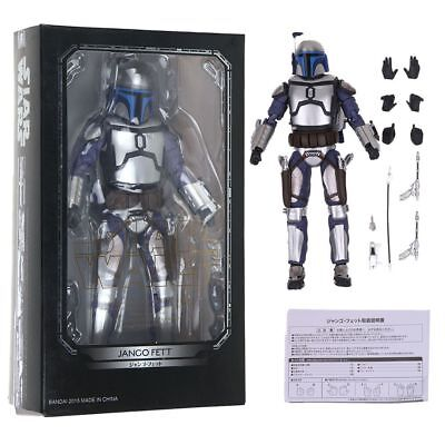 SHF S.H.Figuarts Star Wars Jango Fett PVC Action Figure Collectible Toys Gifts