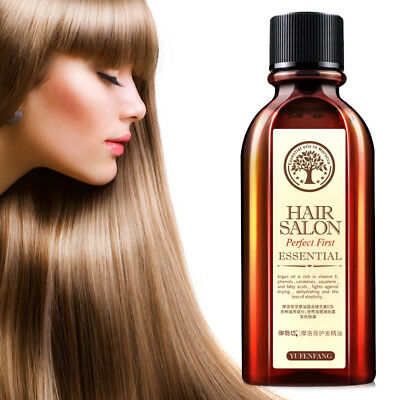 Natural Moisturizing Argan Oil Hair Care Nourish Scalp Treatment Essential 60ML