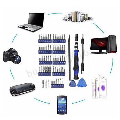 63 in 1 Precision Screwdriver Set Electronics Repair Magnetic Kit For IPhone PC
