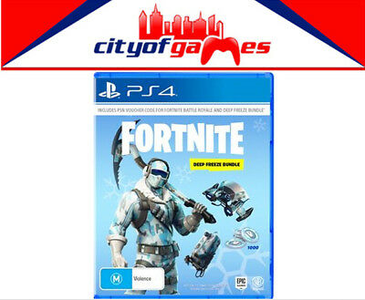 Fortnite Deep Freeze Bundle PS4 Brand New & Sealed In Stock