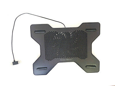 Cooler Master Laptop Cooling Pad with Fan Black Tested