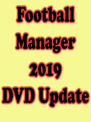 FM 2019 Football Manager 2019 Logos Faces Kits Update DVD Update Available Now