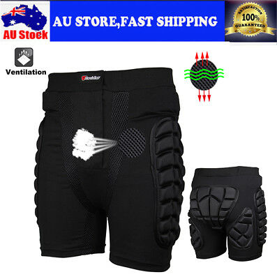 Sport Hip Bum Armour Skiing Motocross Motorcycle Padded Shorts Pants Protection