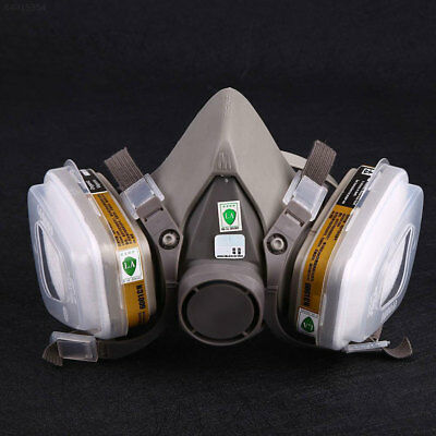 1499 Outdoor 7-in-1 Half Face 6200 Mask For Gas Spraying Anti Fog Respirator