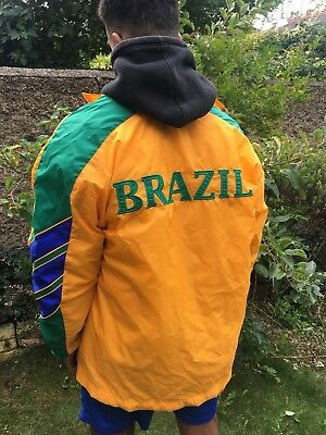 Vintage Brazil World Cup 98 Jacket