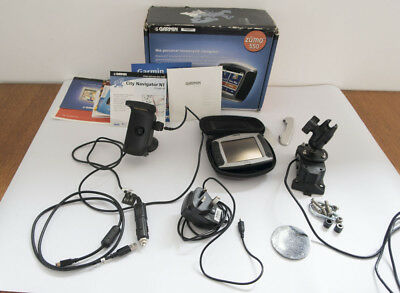 Garmin Zumo 550 Motorcycle Sat Nav Boxed with Mounts & Accessories