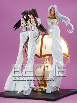 Belldandy, Urd and Skuld (Pre-painted) Gathering anime figure!