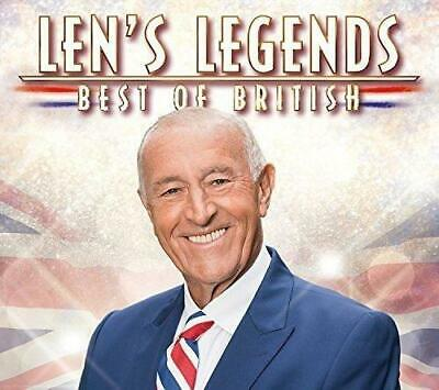 LEN'S LEGENDS - BEST OF BRITISH V/A 3CDs (NEW/SEALED) Queen Tom Jones