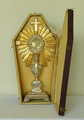 C1819 French Silver Monstrance Francois Desire Froment Michel Angelo Hallmark