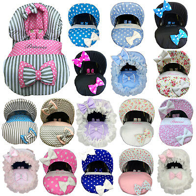 Universal Baby Car Seat Footmuff Cosy Toes Cover Fitted Personalised Boys Girls