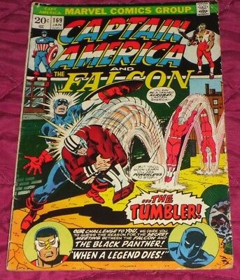 Captain America 169# Jan 1974 When A Legend Dies ! Great Comic And Only 99P