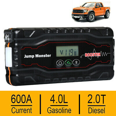 ZIPOM 68800mAh Car Jump Starter LED Emegency Booster Battery Charger Power Bank