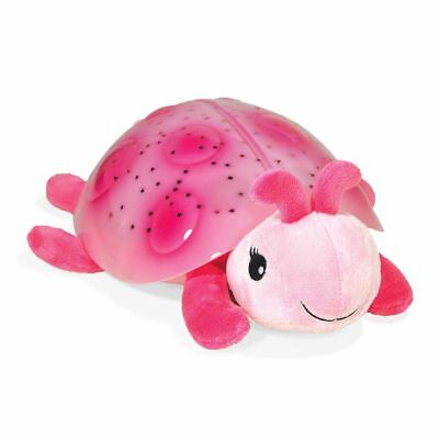 Official Cloud B Twilight Ladybug Pink Night Light Projector